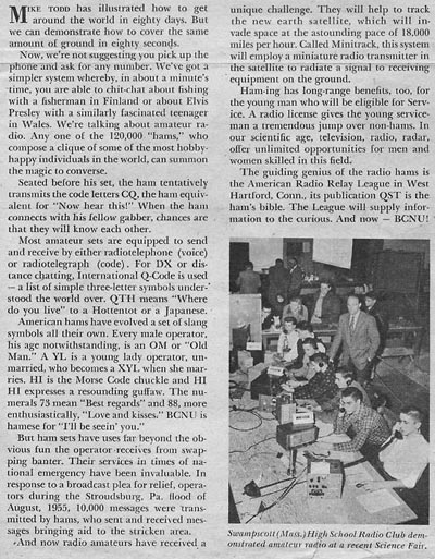 Archives of the Gator Amateur Radio Club (W4DFU) at the University of ...